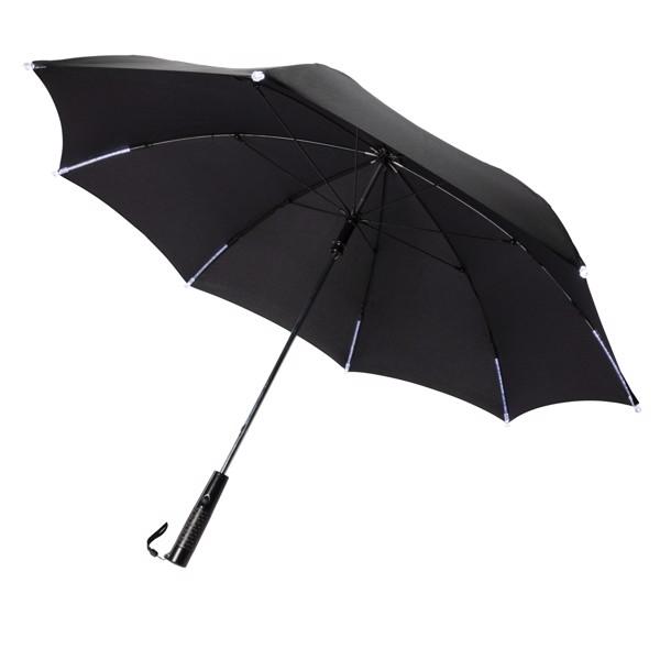 """23"""" manuální deštník s LED světlem"""