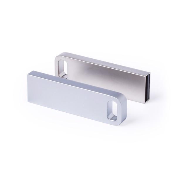 Memoria USB Ditop 16GB - Plateado