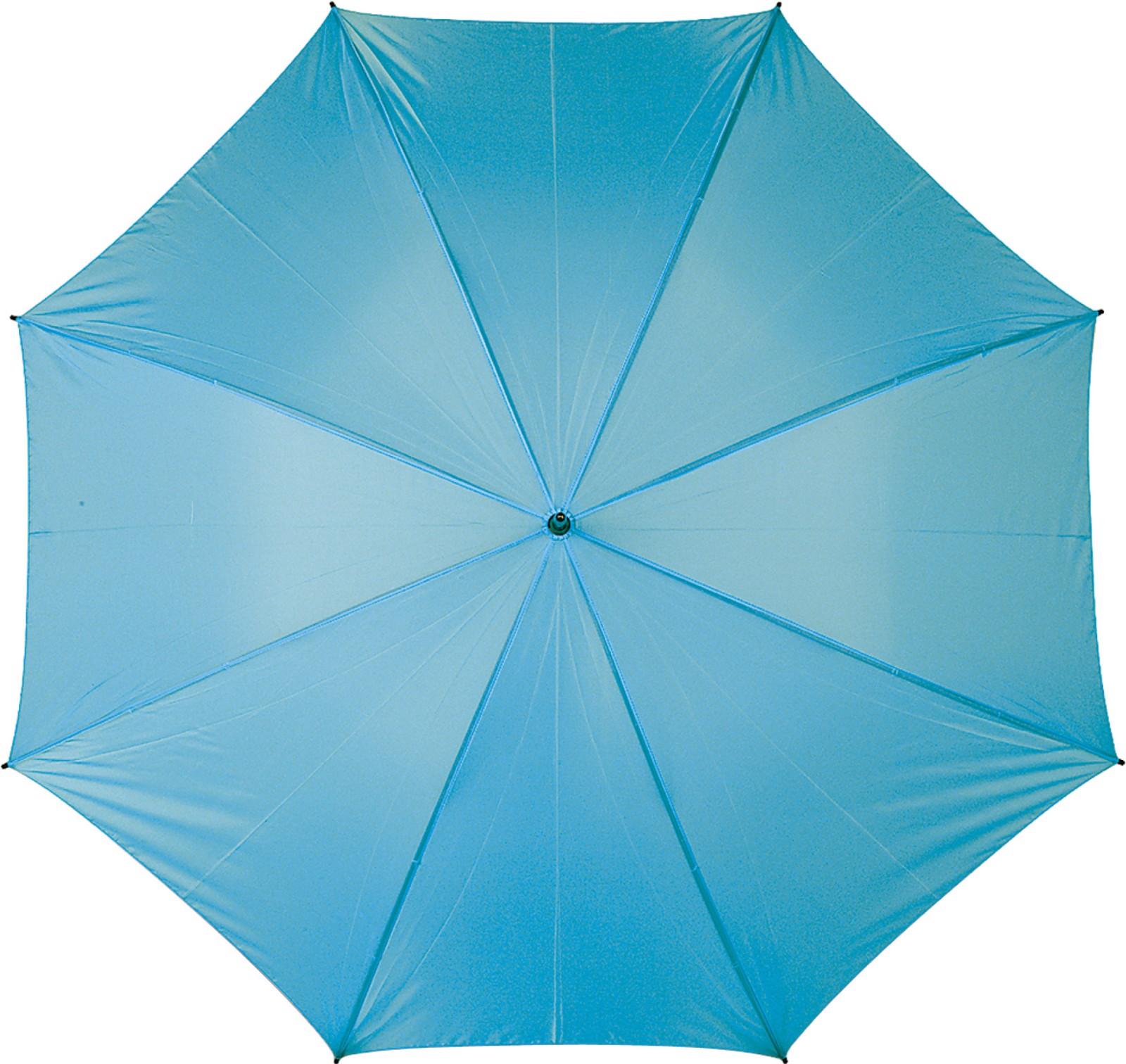 Polyester (210T) umbrella - Light Blue