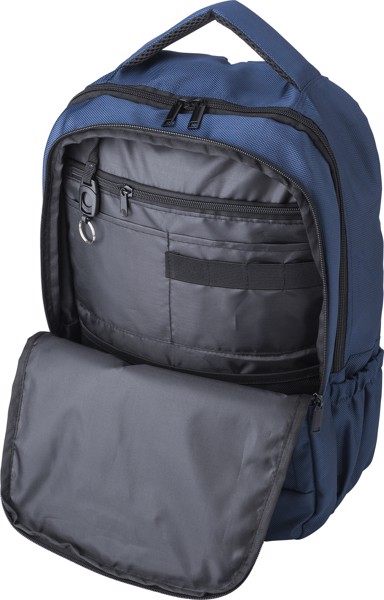 Polyester (1680D) backpack - Blue