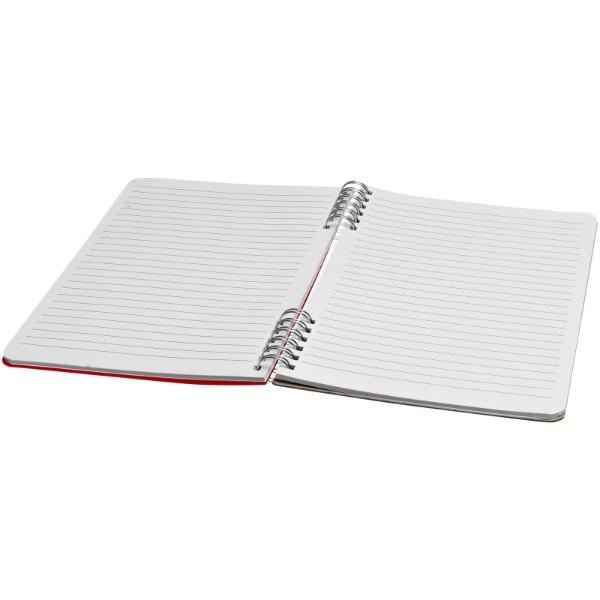 Flex A5 spiral notebook - Red