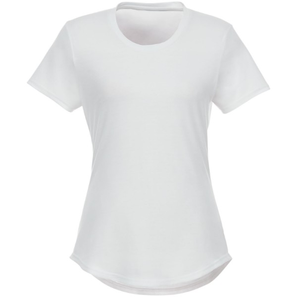 Jade short sleeve women's GRS recycled t-shirt - White / XS