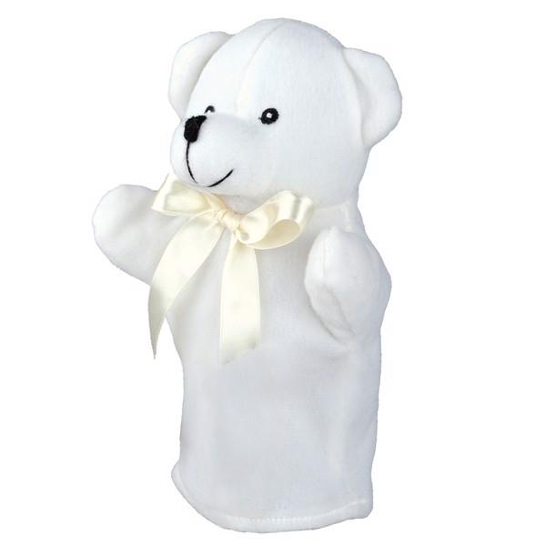 Pacynka Teddy Bear - Biały