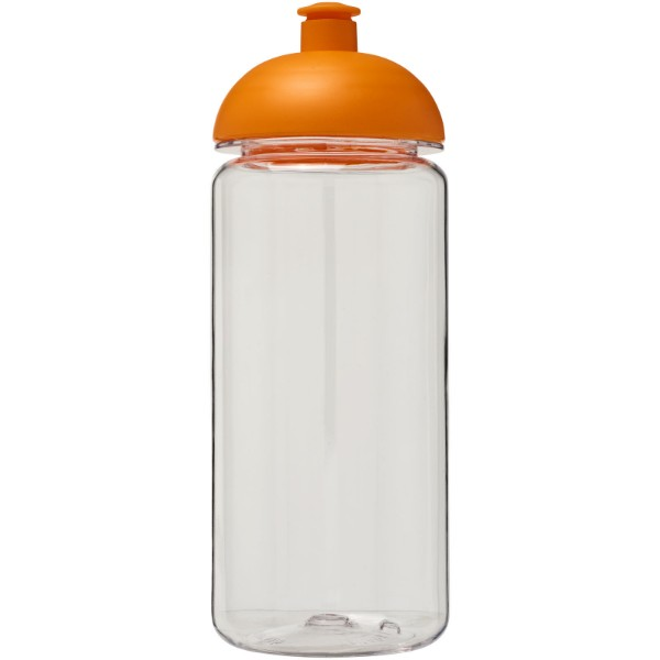 H2O Octave Tritan™ 600 ml dome lid sport bottle - Transparent / Orange