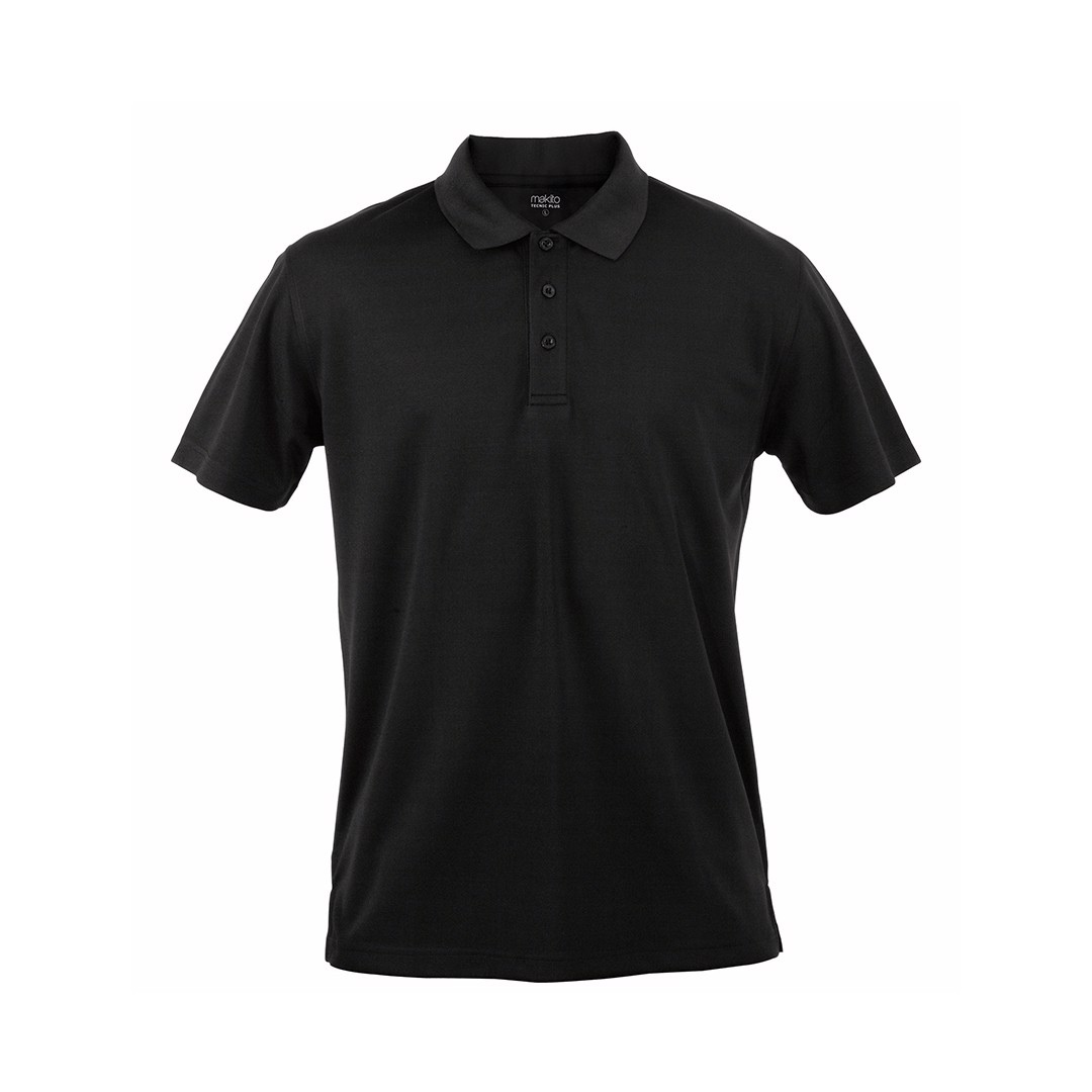 Polo Tecnic Plus - Negro / S