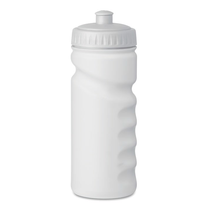 500ml PE Bottle Spot Eight - White
