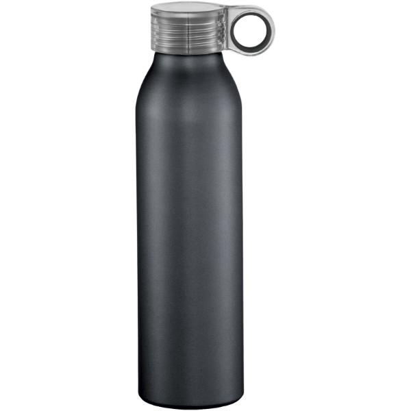 Hliníková sportovní láhev Grom - Černá