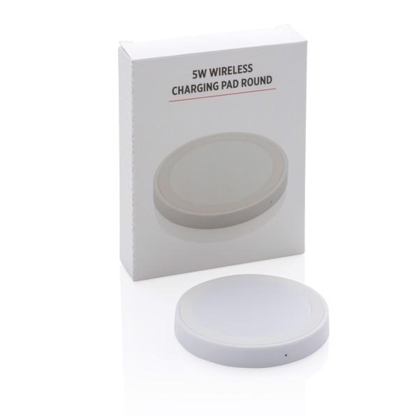 Základní bezdrátová nabíječka 5W - Bílá