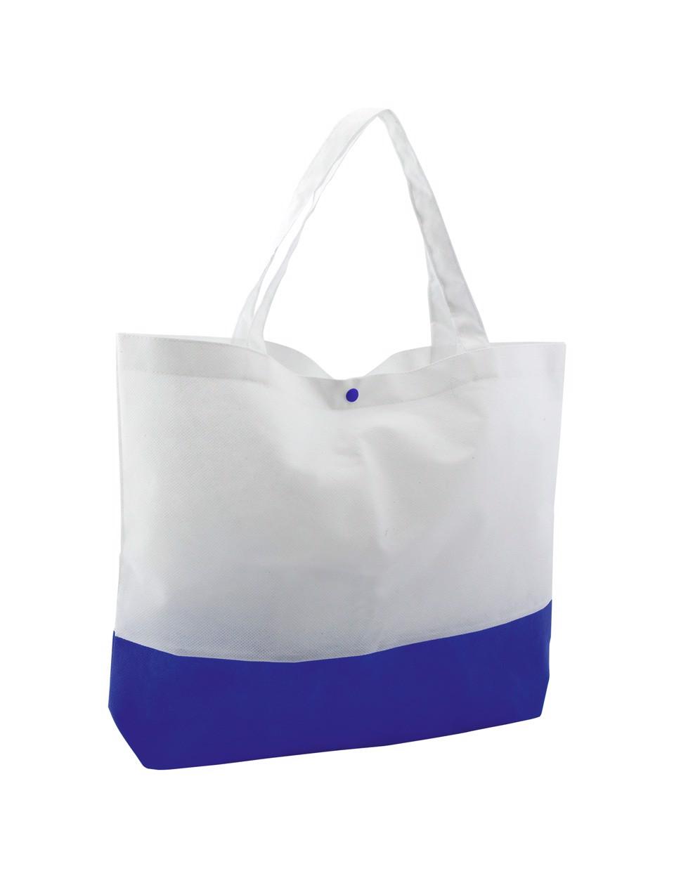 Geanta De Plaja Bagster - Alb / Albastru