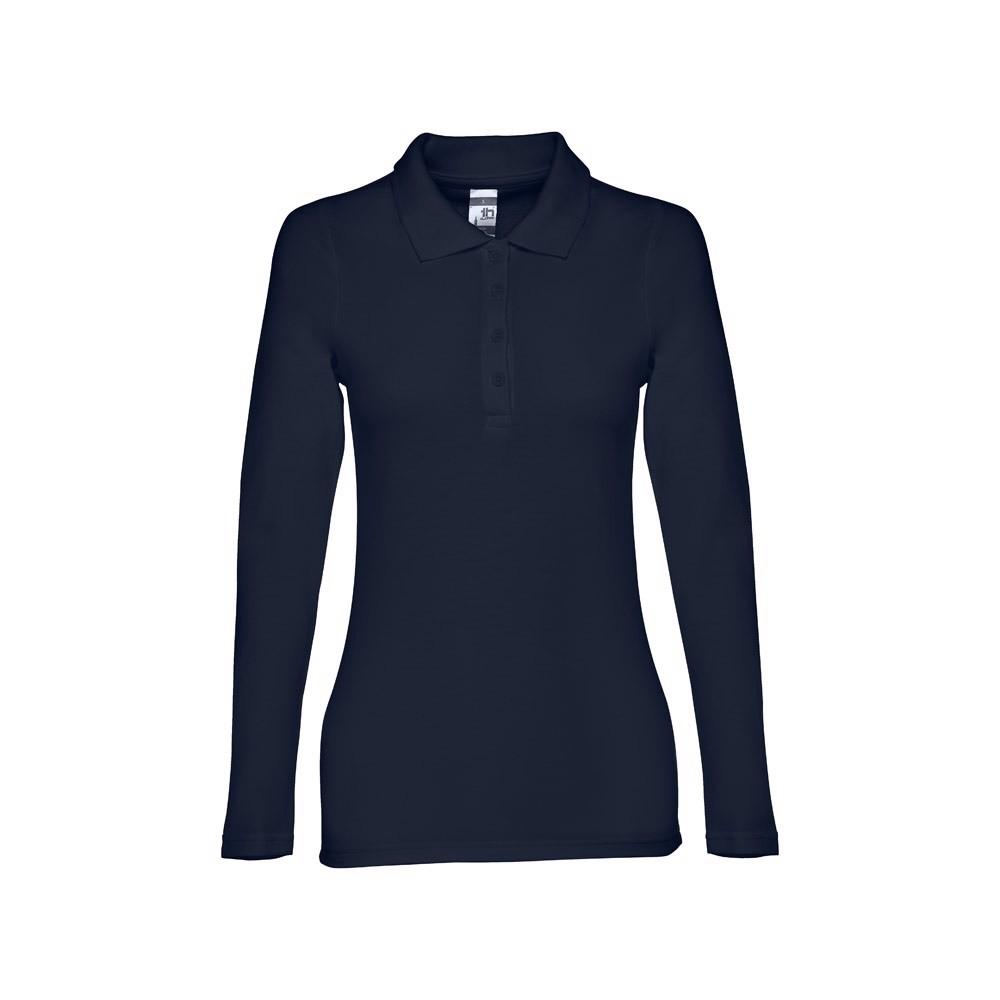 BERN WOMEN. Γυναικείο μακρυμάνικη πόλο - Ναυτικό Μπλε / L