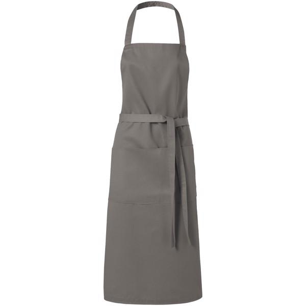 Viera apron with 2 pockets - Dark grey