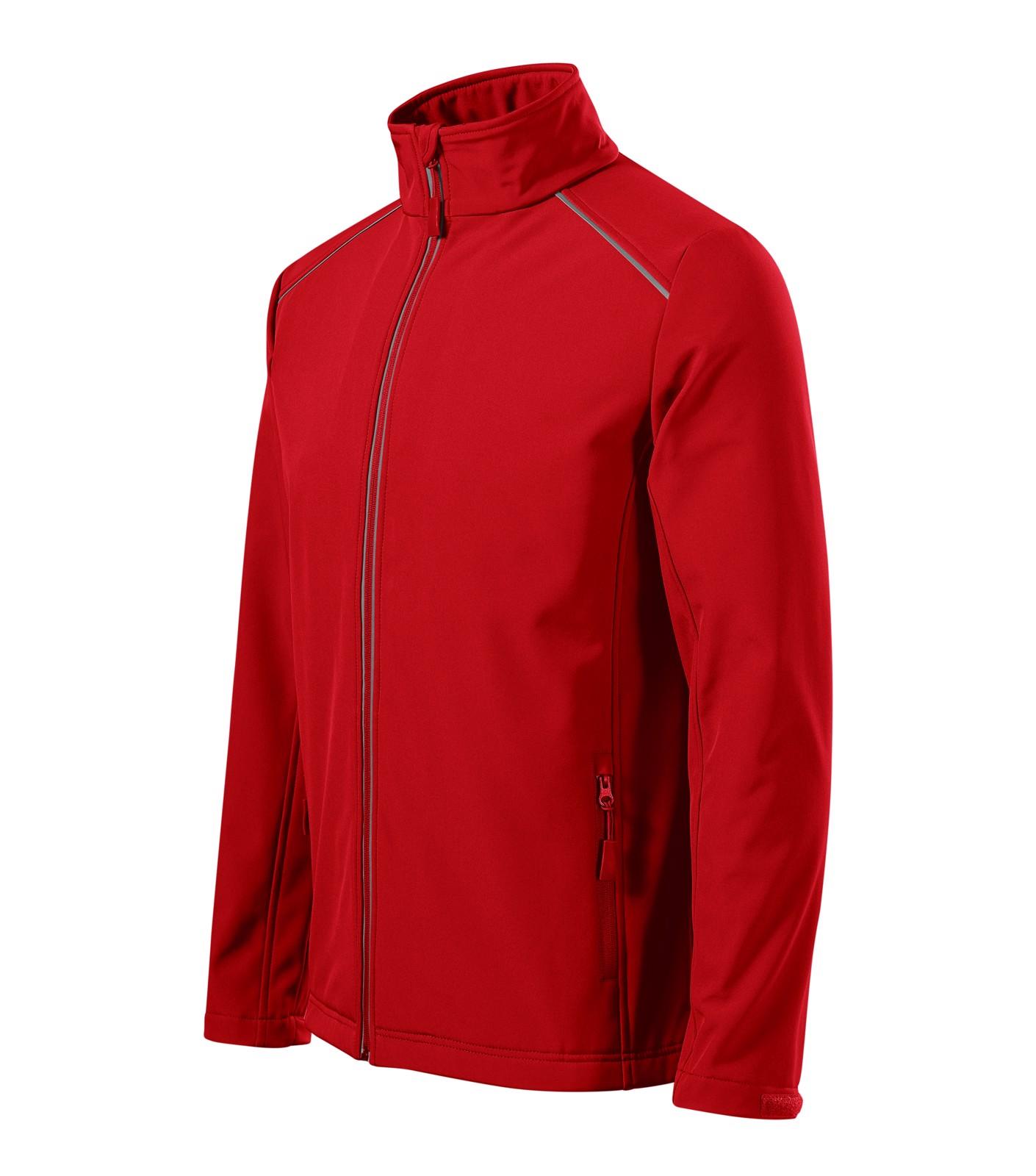 Softshellová bunda pánská Malfini Valley - Červená / M