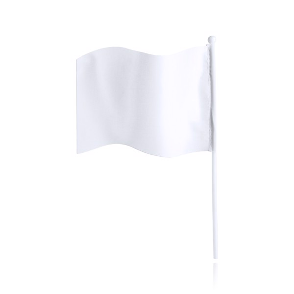 Pennant Flag Rolof - White