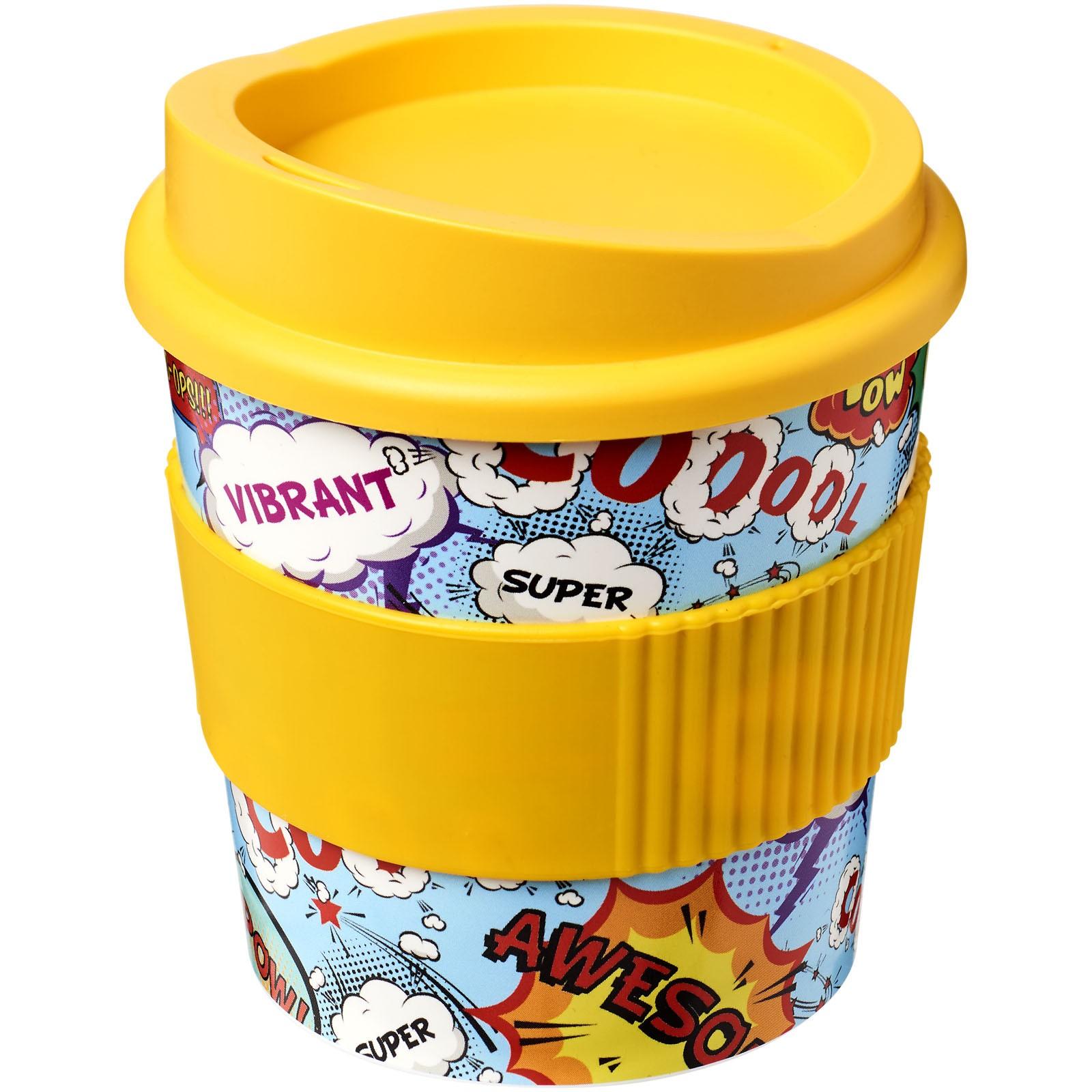 Hrnek s rukojetí Brite-Americano® primo 250 ml - Žlutá