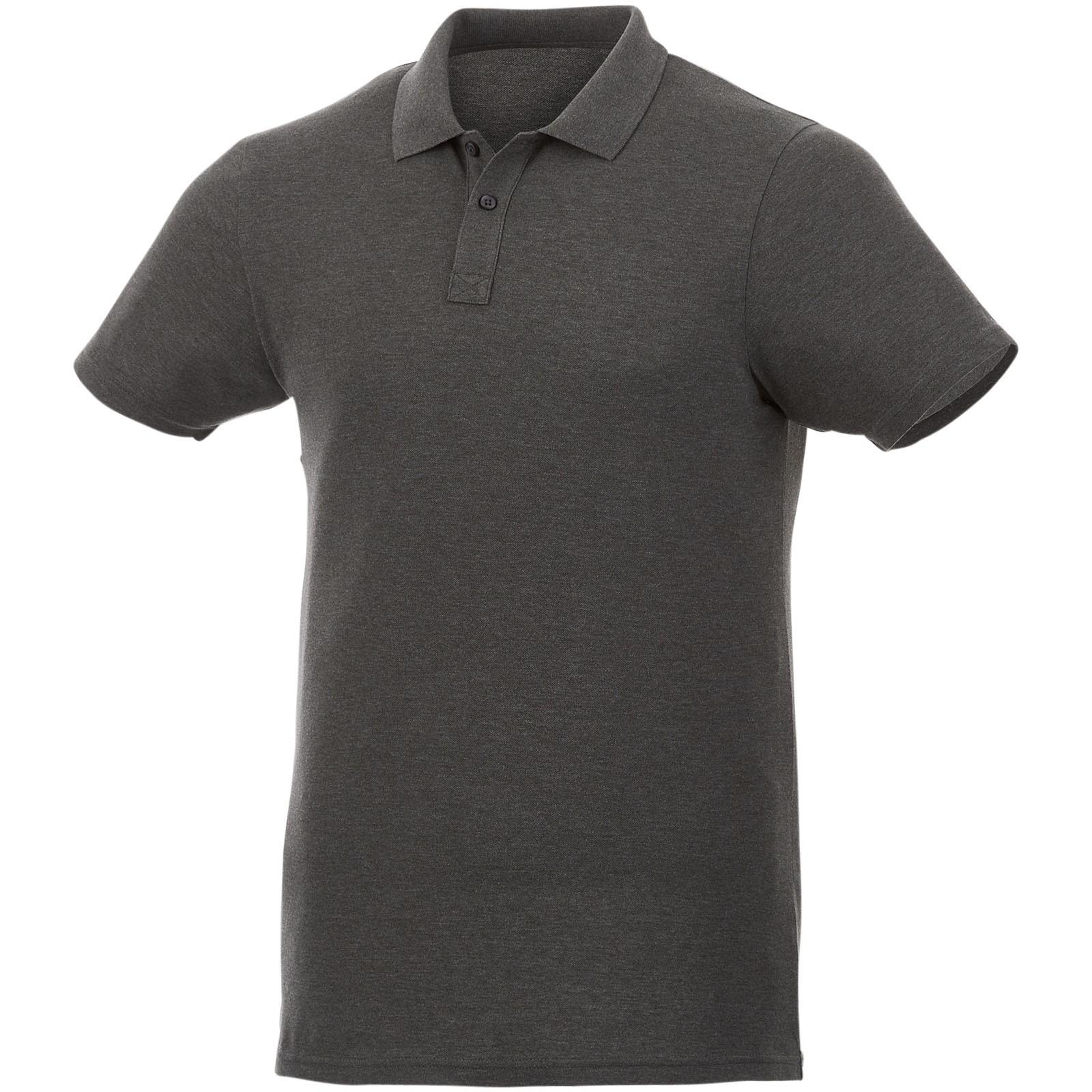 Liberty short sleeve men's polo - Charcoal / S