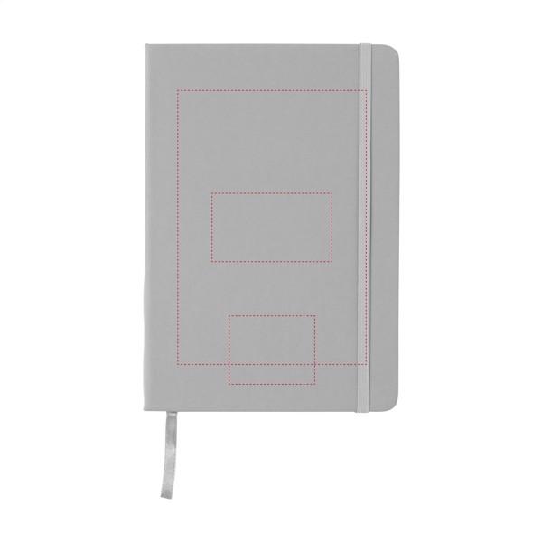 BudgetNote A5 Blanc - Grey