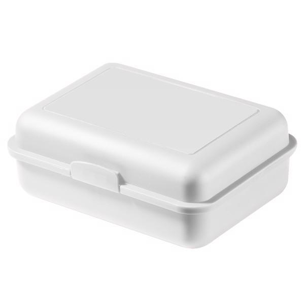 "Storage Box ""School Box"" Large With Separating Bowl - White"