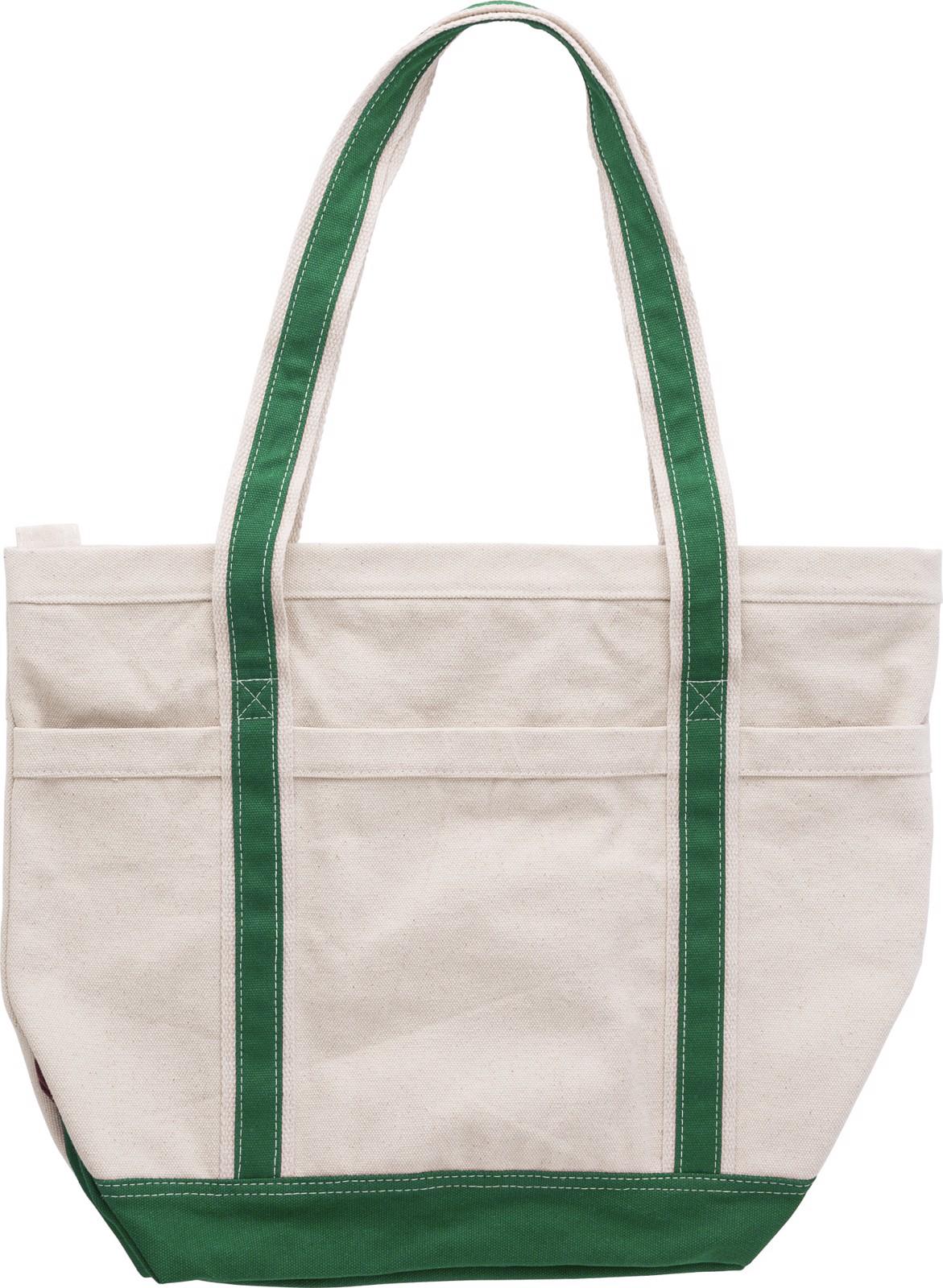 Cotton (500 gr/m²) shopping bag - Green