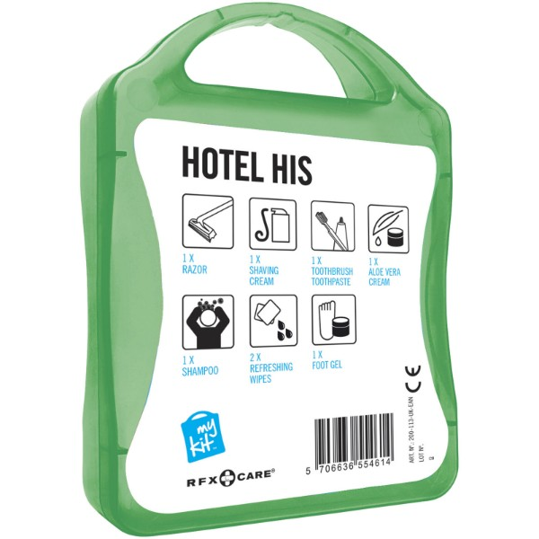 MyKit Hotel His Travel Set - Green