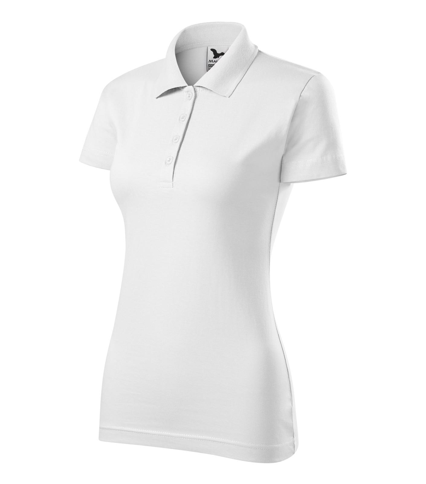 Polo Shirt women's Malfini Single J. - White / XS