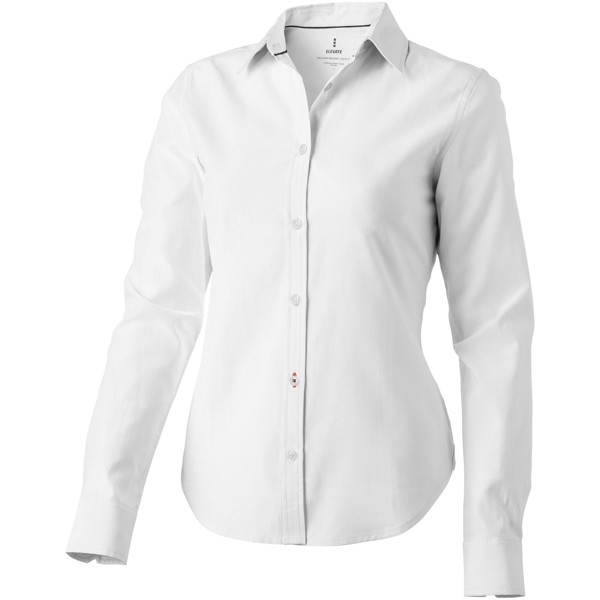 Vaillant long sleeve ladies shirt - White / XXL