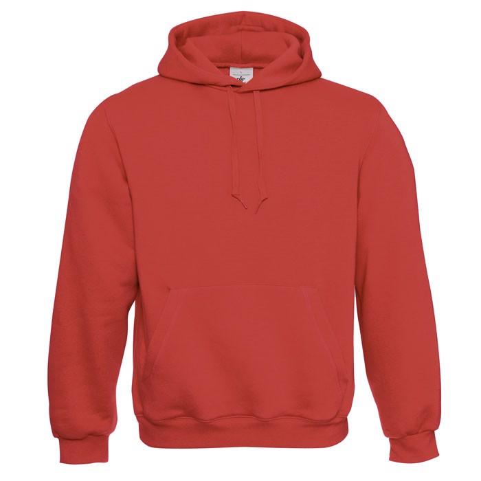 Hooded Sweatshirt - Red / 3XL
