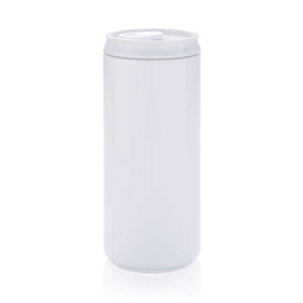 PLA plechovka - Bílá