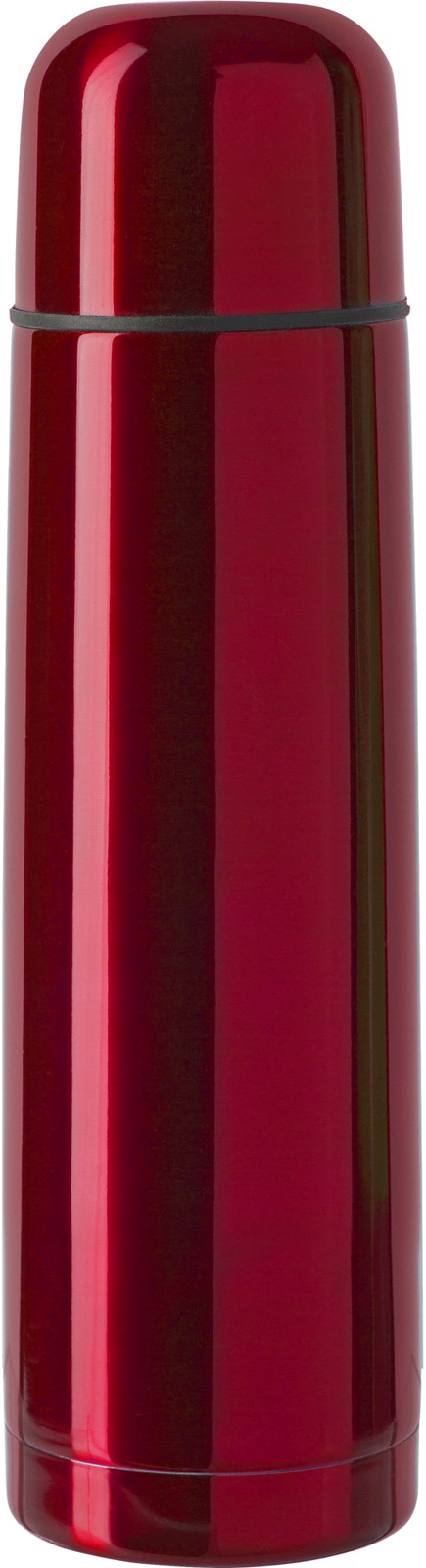 Stainless steel double walled flask - Red