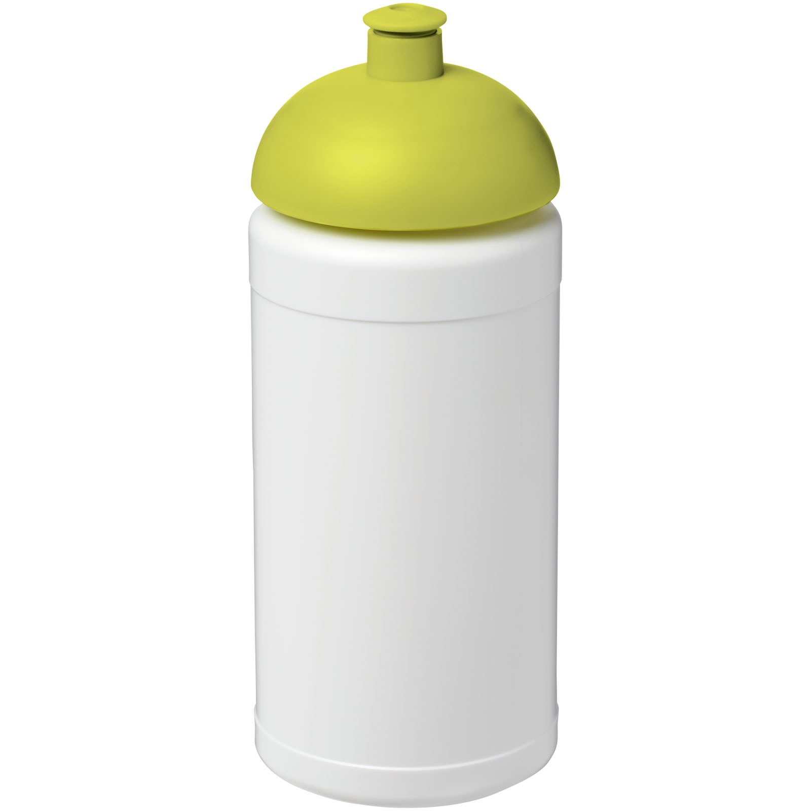 Sportovní láhev s kupolovitým víčkem Baseline® Plus 500 ml - Bílá / Limetka