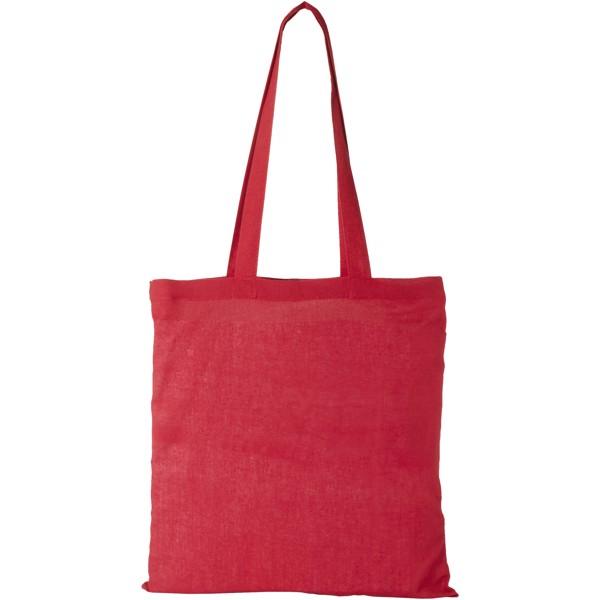 Carolina 100 g/m² cotton tote bag - Red