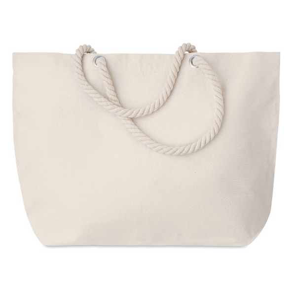 Beach bag with cord handle Menorca