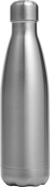 Stainless steel bottle (650 ml) - Silver