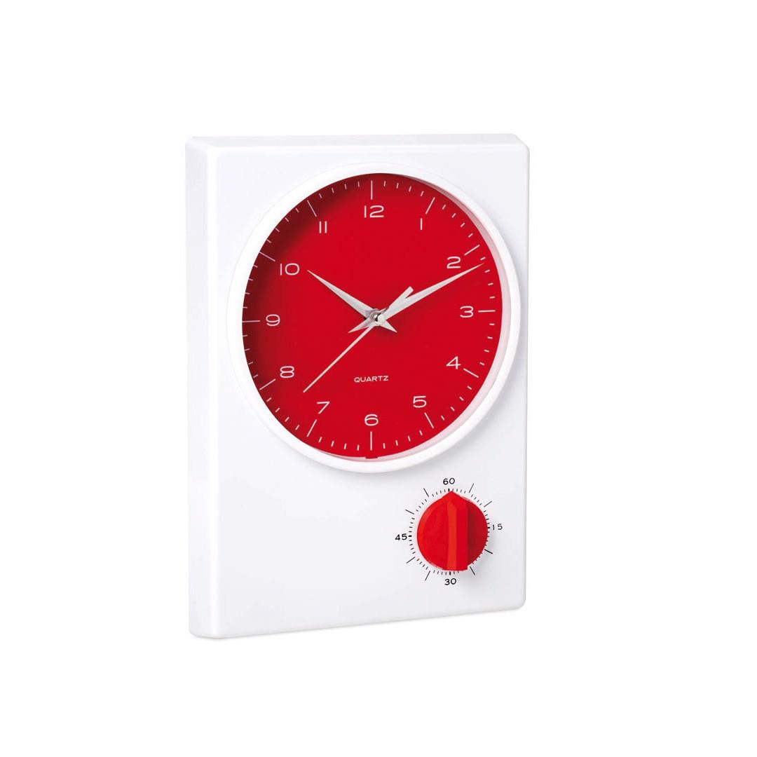 Reloj Temporizador Tekel - Rojo