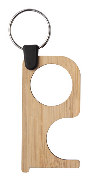 Hygienický Klíč NoTouch Bamboo - Přírodní