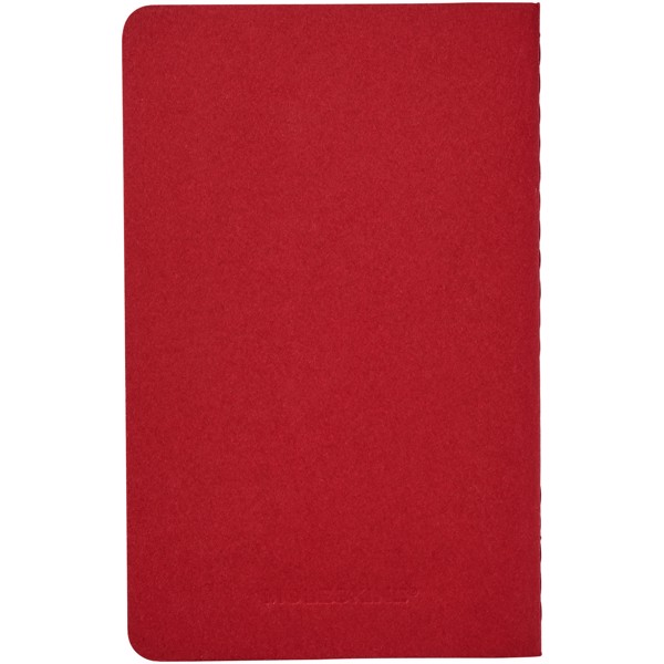 Cahier Journal PK - ruled - Cranberry red