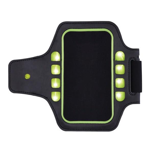 Futáshoz használt LED-fényű tartó