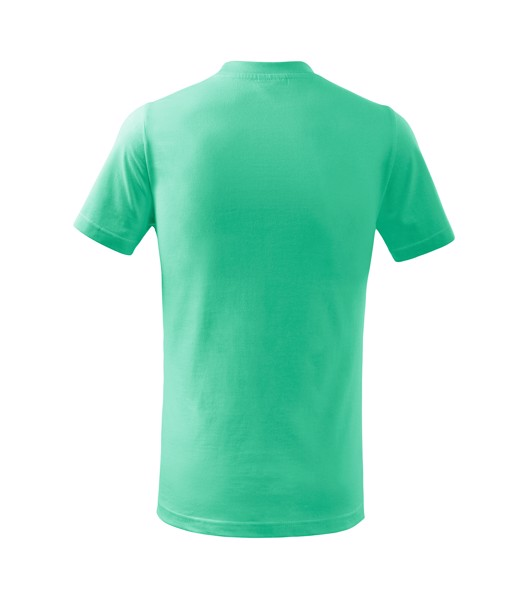 Tričko dětské Malfini Basic - Mátová / 146 cm/10 let