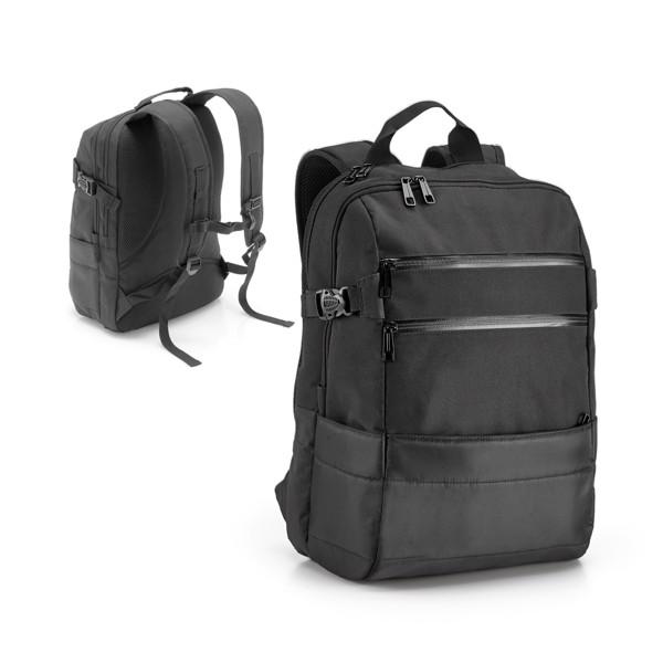 ZIPPERS BPACK. Laptop backpack 15'6''