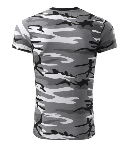 Tričko unisex Malfini Camouflage - Camouflage Gray / 3XL