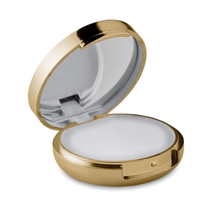 Balsam z lusterkiem Duo Mirror - matowy złoty