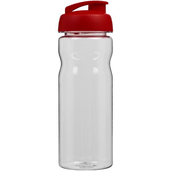 H2O Base Tritan™ 650 ml flip lid sport bottle - Transparent / Red