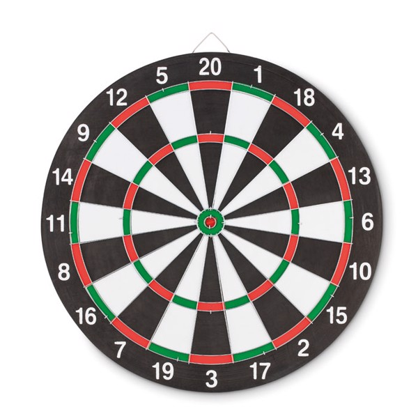 Double sided dart board Nail It
