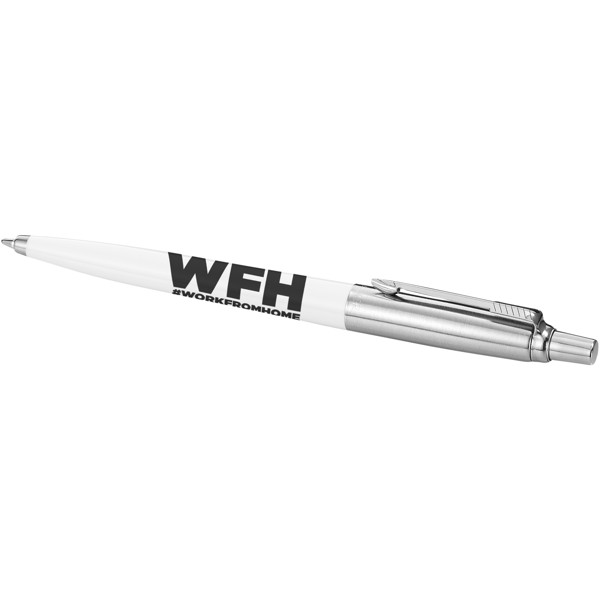 Kuličkové pero Jotter - Bílá / Stříbrný