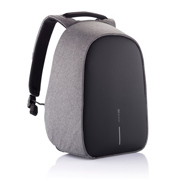 Bobby Hero XL, Anti-theft backpack - Grey / Black