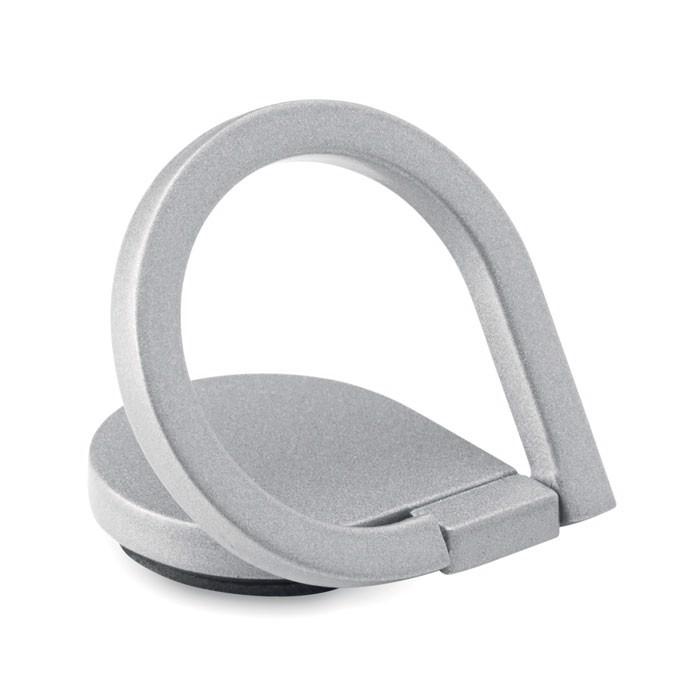 Uchwyt na telefon Drop Ring - srebrny
