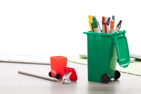 Stojan Na Psací Potřeby Dustbin - Zelená
