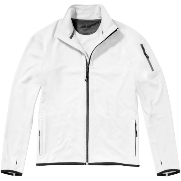 Mani power fleece full zip jacket - White / XL