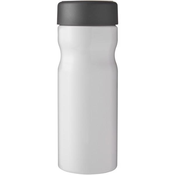 H2O Base 650 ml screw cap water bottle - White / Grey