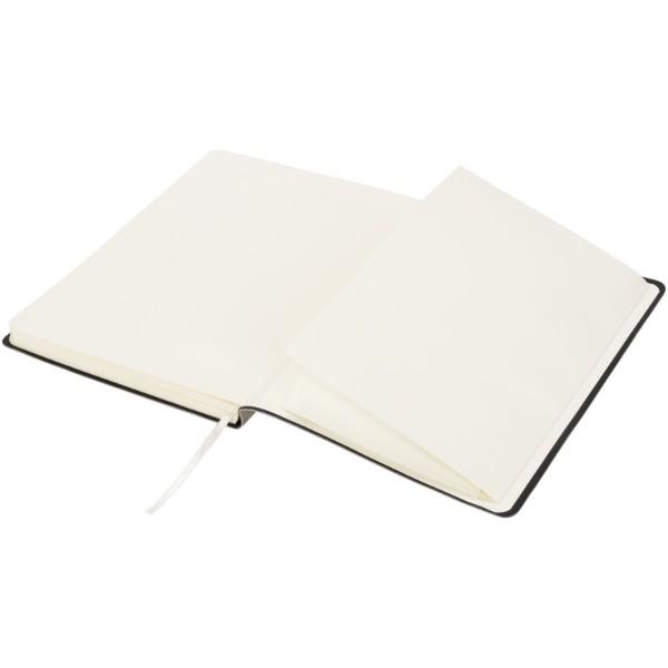 Zápisník Liberty z příjemně měkkého materiálu - Šedá