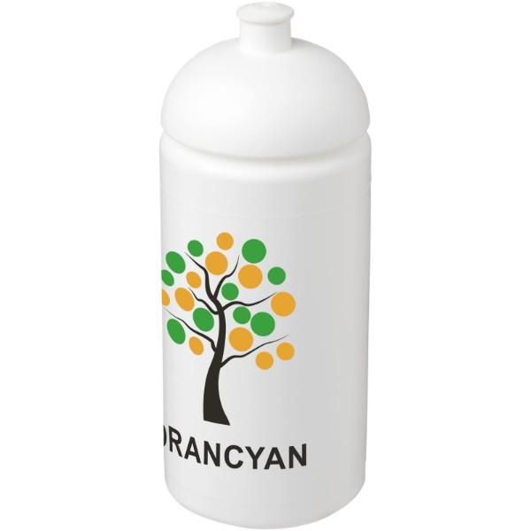 Sportovní láhev s kupolovitým víčkem Baseline® Plus grip 500 ml - Bílá